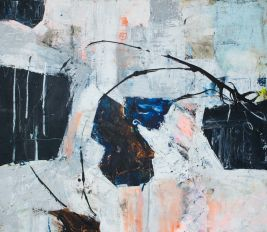 Abstract painting by Lene Merete Haugen
