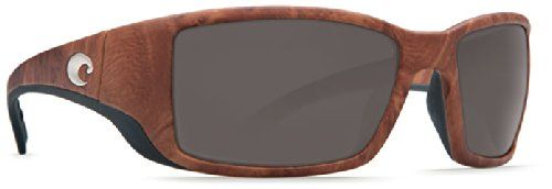 Costa Del Mar Sunglasses - Blackfin- Glass / Frame: Gunstock Lens: Polarized Gray Wave 580 Glass