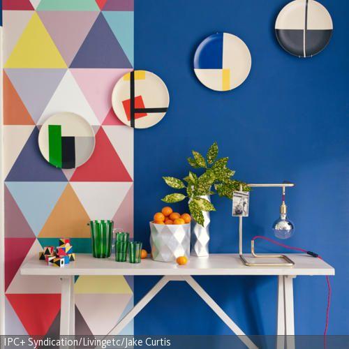 24 besten Tapeten Bilder auf Pinterest Tapeten, Badezimmer und - tapeten wohnzimmer ideen 2013