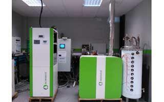 Sistema Híbrido Zero Energy Building que utiliza #biomasa, #geotermia y energía #solar fotovoltaica