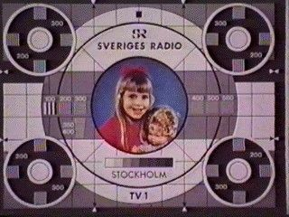 TV Test Card :: Sweden. Click through for Test Cards from Around the World