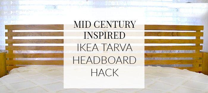 Hallo Leute Heute Bin Ich Hier Mit Dem Ikea Tarva Bettkopfteil
