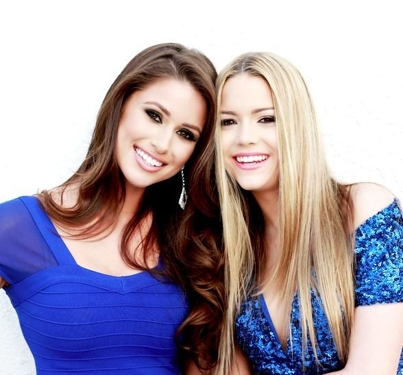 The search for the next Miss Nevada USA and Miss Nevada Teen USA has begun as the countdown for the 2015 Miss Nevada USA Pageant has officially started (Pictured: Miss USA Nia Sanchez and Miss Nevada Teen USA Alexa Taylor - Photo credit: Fadil Berisha).