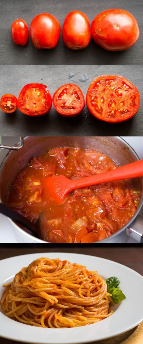 How to Make the Best Tomato Sauce From Fresh Tomatoes