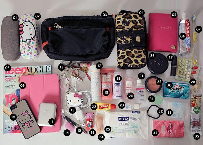 Guia de viagem: Bolsa de mão                                                                                                                                                     Mais