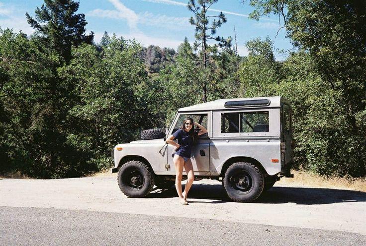 Land Rover Girl #series III  www.landroversanjuantx.com