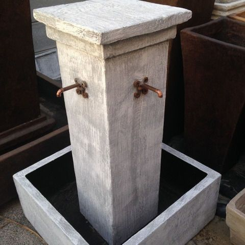 Classical Pillar fountain FOR SALE - you choose the colour!Water Features For Sale - Various Options to choose from!Cement Garden Pots and M...162164891