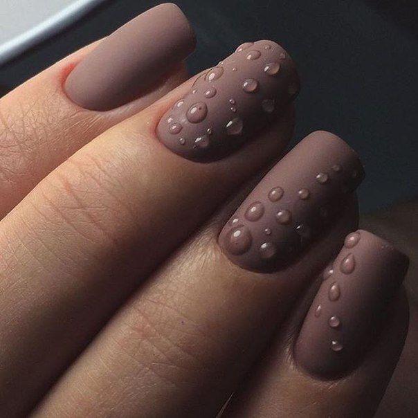 Clear glaze droplets?