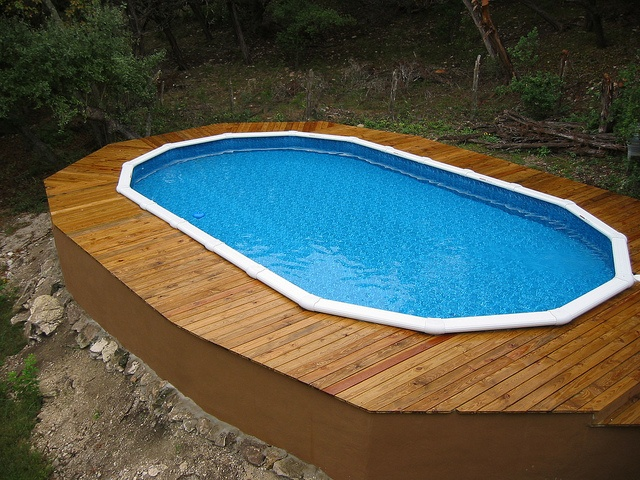 124 best images about above ground pool decks on pinterest for Above ground pool decks tampa