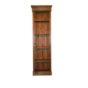 Portchester Pine Waxed Slim Jim Bookcase  www.easyfurn.co.uk