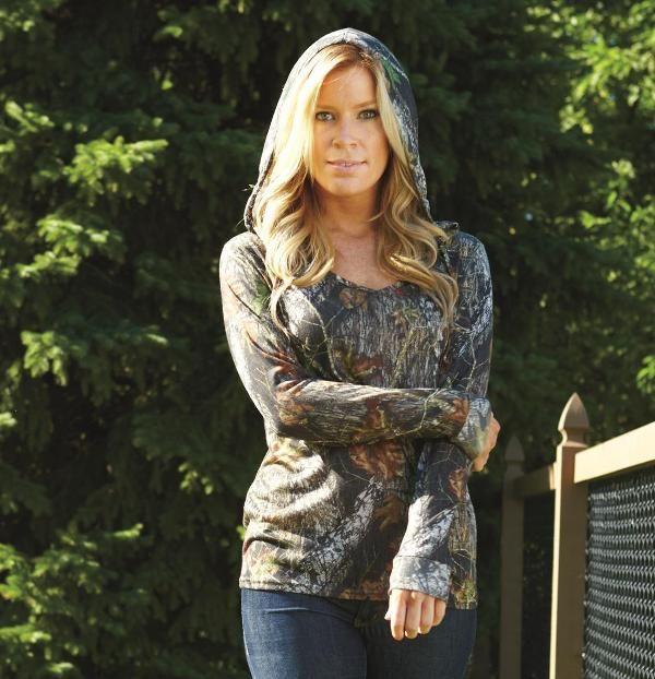 Mossy Oak hooded shirt