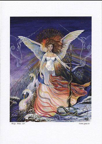 Bridget The Maiden Gift Card by Caroline Lir