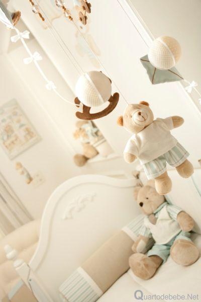 móbile de bebê ursinhos