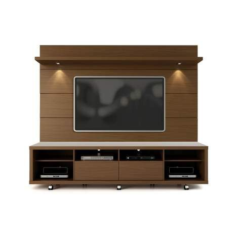 Maximize your living room space with the Cabrini 2.2 TV Panel. Includes brackets to mount your TV on the panel and free your floor space and help minimize clutter! The 2 overhead LED lights creates a cozy and homey atmosphere in your living room. Pair it with our Cabrini TV Stand to create a complete home theater. Choose between different modern finishes to compliment your living environment. Our unique finishes allow easy cleaning, so your TV stand always looks shiny and new. The unique…