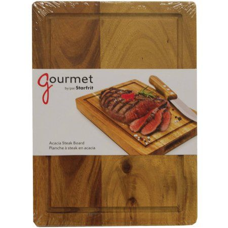 Starfrit 080539-004-0000 Meat Serving & Carving Board, Brown