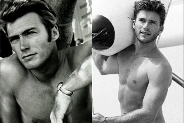 Clint Eastwood & Scott Eastwood  Oh my my my, there's a lot of talent in those Eastwood genes!!! Love them both