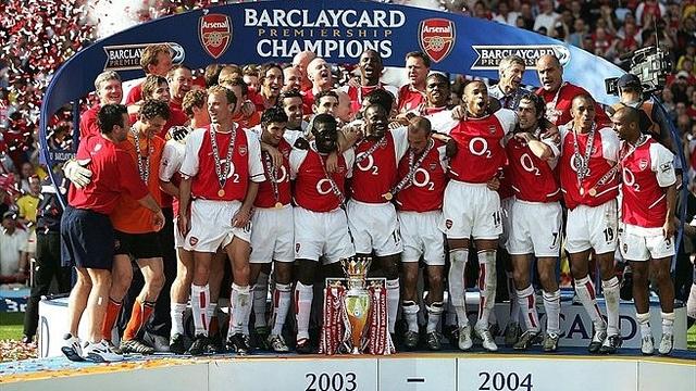 Arsenal League Winners 2003-2004