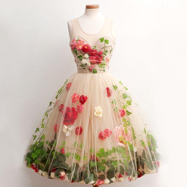 Garden Party Dresses - Ocodea.com