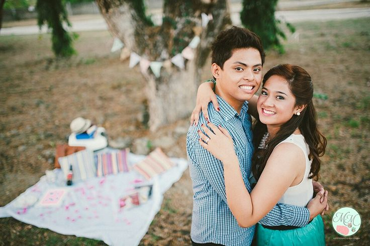 E-session, garden themed prenup photo by M M Photography ...