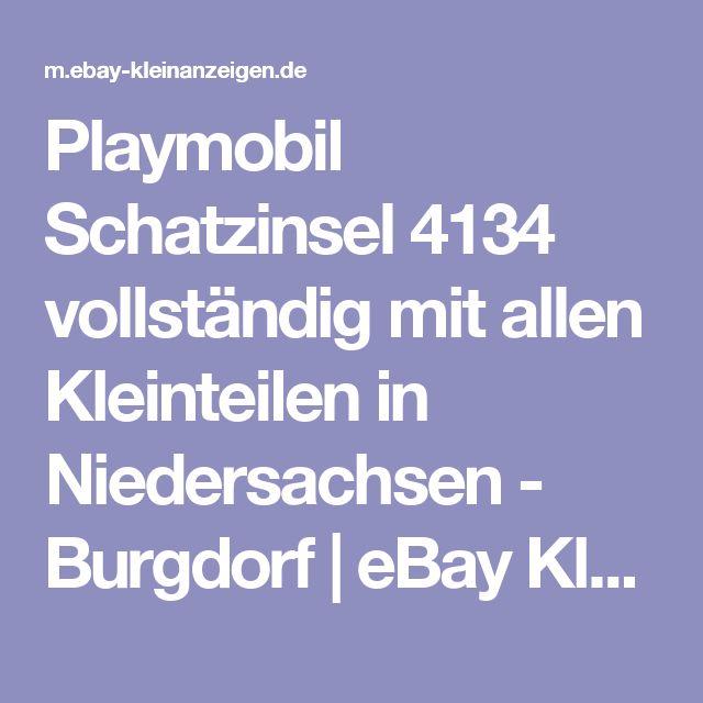 Playmobil Schatzinsel 4134 vollständig mit allen Kleinteilen in Niedersachsen - Burgdorf | eBay Kleinanzeigen