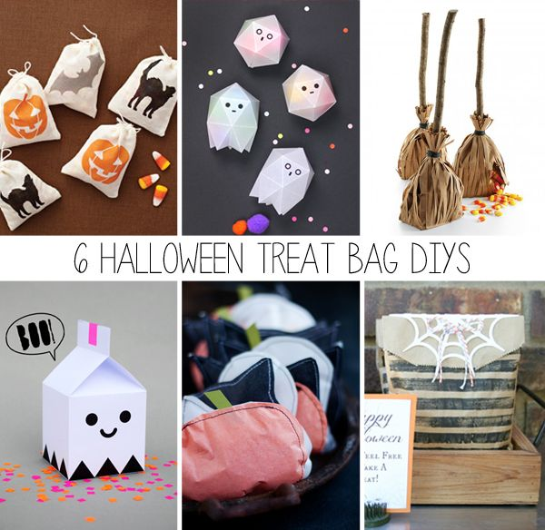 106 best Falling for FALL images on Pinterest Craft kids - halloween gift bag ideas