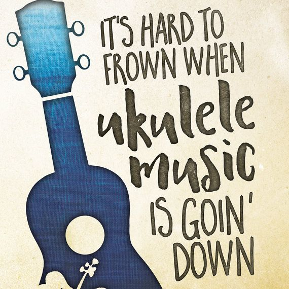 Image result for ukulele and music notes cartoon