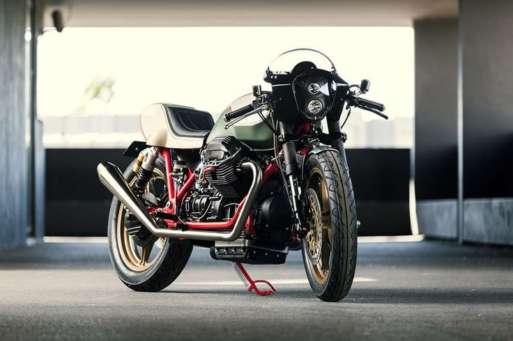 Moto Guzzi Mille GT 1000 Cafe Racer by Redonda Motors #motorcycles #caferacer #motos | caferacerpasion.com