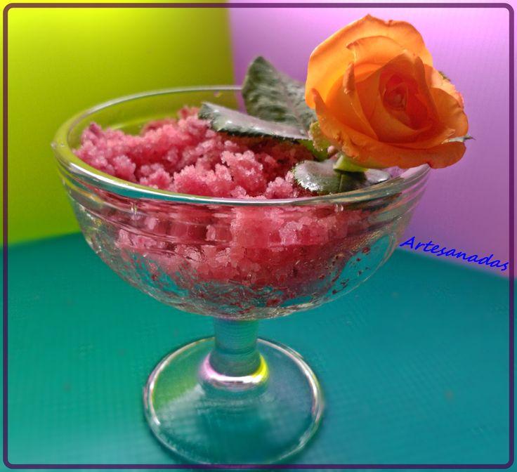 Exfoliante De Azúcar (Sugar Scrub) La exfoliación de la piel, consiste en retirar sus células muertas,(descamación de la epidermis) por acción física o química, el caso que nos ocupa es por acción ...
