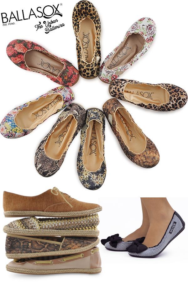 Discover your new favorite flat with Ballasox. Ballet Flats, Espadrilles, Boat Shoes, Sandals and more in a variety of styles and prints, there is a pair for every outfit and any occasion.