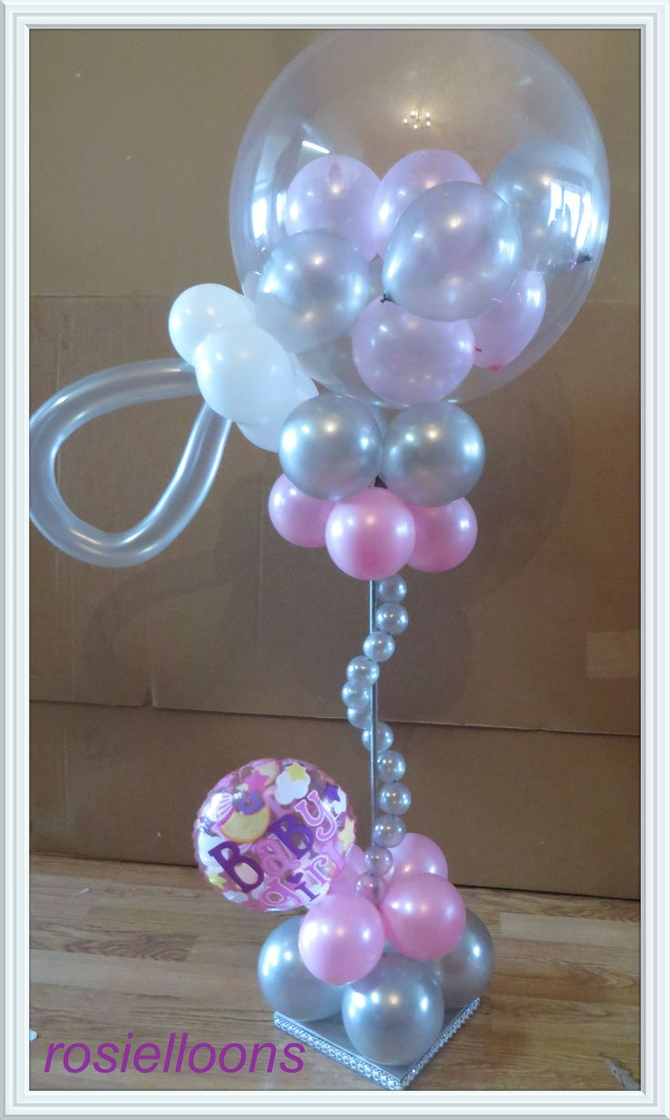 437 best balloon baby shower parties decorations images on pinterest balloon decorations. Black Bedroom Furniture Sets. Home Design Ideas