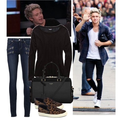 Jimmy Kimmel show with Niall - Polyvore