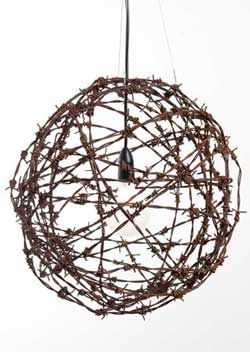 Tawonga Barbed Wire Ball Light