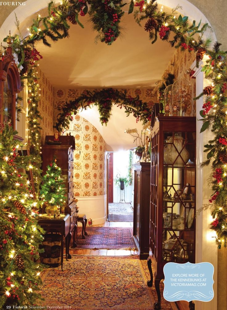 pictures of homes decorated for christmas on the inside - Homes Decorated For Christmas On The Inside
