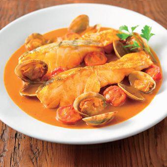 蟹のビスク アクアパッツァ風  スープのアレンジレシピ | 無印良品ネットストア