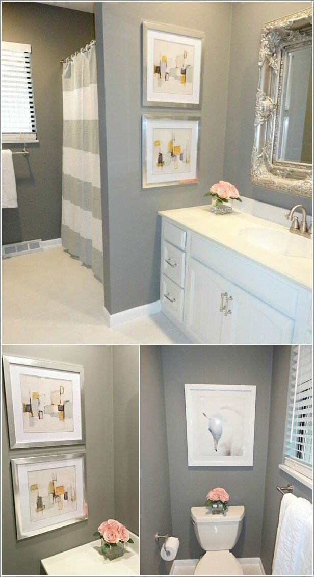 Bathroom Wall Art Ideas Decor Inspirational 10 Creative Diy Bathroom Wall Decor Ideas In 2020 Kid Bathroom Decor Bathroom Wall Decor Bathroom Wall Hanging