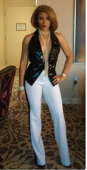 Ms. Jackson. Floyd Mayweather Jr.'s fiance. She's amazing!