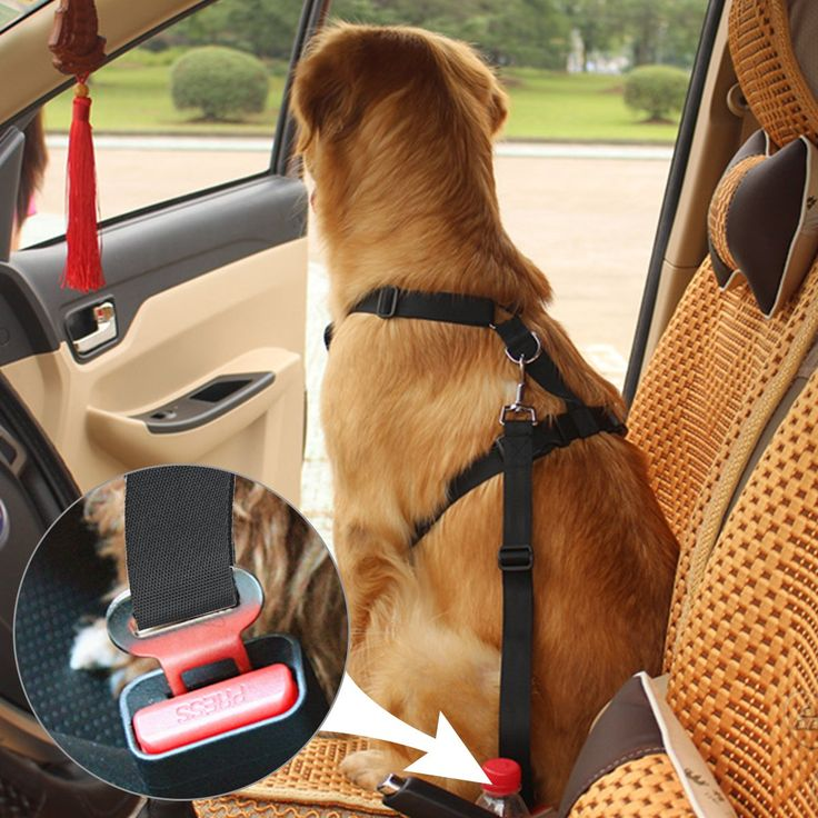 Best Dog Seat Belt >> Fypo Pet Dog Car Seat Belts Safety Harness Adjustable Buckle Travel Auto Vehicle Stabilizer ...