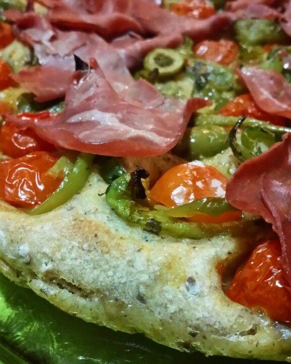 Pizza integrale e grani saraceno del mitico Bonci