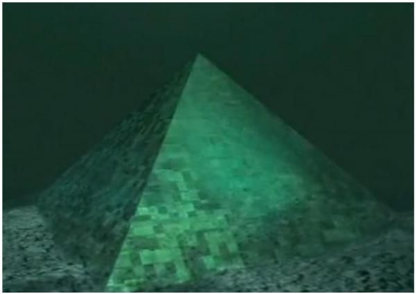 Island news: GIANT CRYSTAL PYRAMID DISCOVERED IN BERMUDA ... |Pyramid Bermuda Triangle