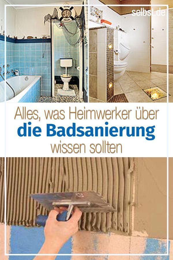 Kompletter Badausbau – selbst ist der Mann
