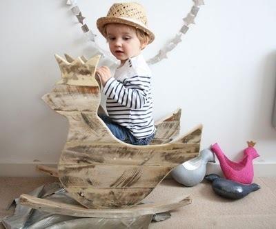 Pallets para bebés