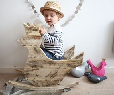 Rocking Bird by Creme Anglaise: Royals Rocks, Creme English, Rocks Birds, Wooden Toys, Recycled Wood, Royals Birds, Crème Anglai, Wood Rocks, Kids Design