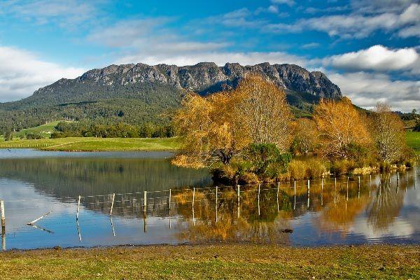Mount Roland, Autumn reflections ©Carol Haberle