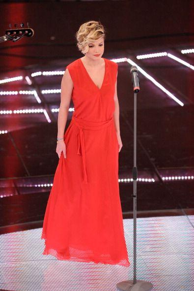 Emma Marrone attend the 61th Sanremo Song Festival at the Ariston... Foto di attualità 109263710