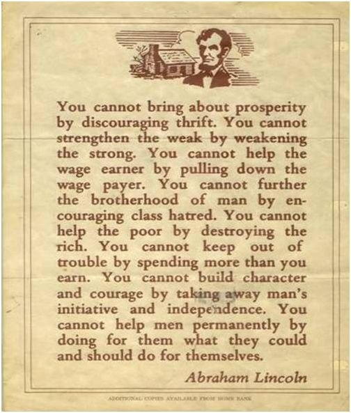 Well said. #Abraham #Lincoln #Quotes: Thoughts, Words Of Wisdom, Abraham Lincoln Quotes, Common Sen, True Words, Truths, Abed Lincoln, People, Wise Words
