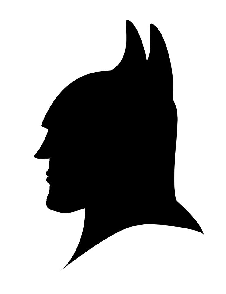 Batman_Silhouette_by_Icedragon529.jpg (816×1060)// thinking of making this out of fondant and putting it on a batman cake