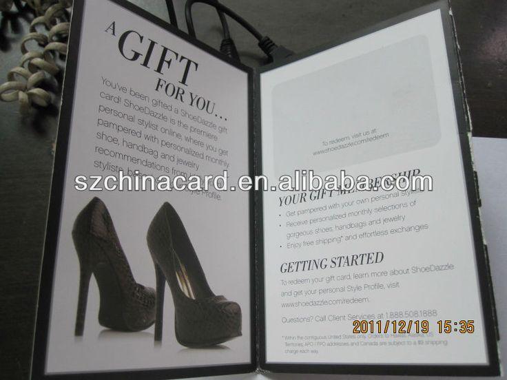 Promotion Paper Card Holder Booklet Printing For Gift Card #Adobe, #Indesign