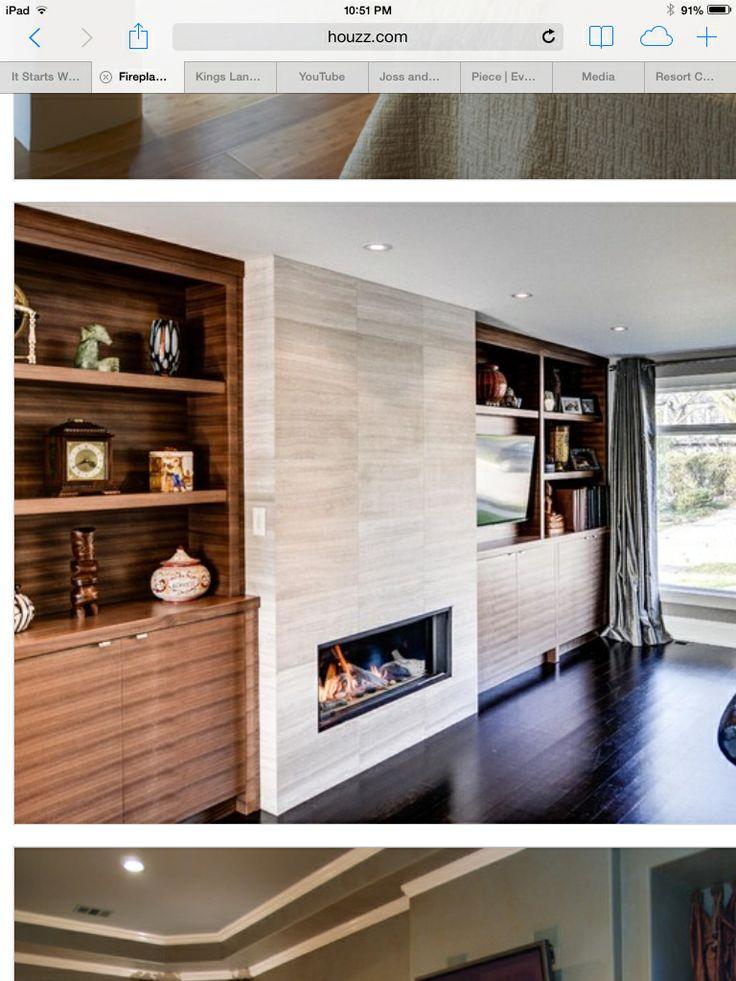Best 25 Fireplace Feature Wall Ideas On Pinterest
