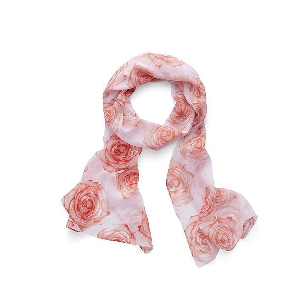 Remény szalagja rózsás sál (47365)