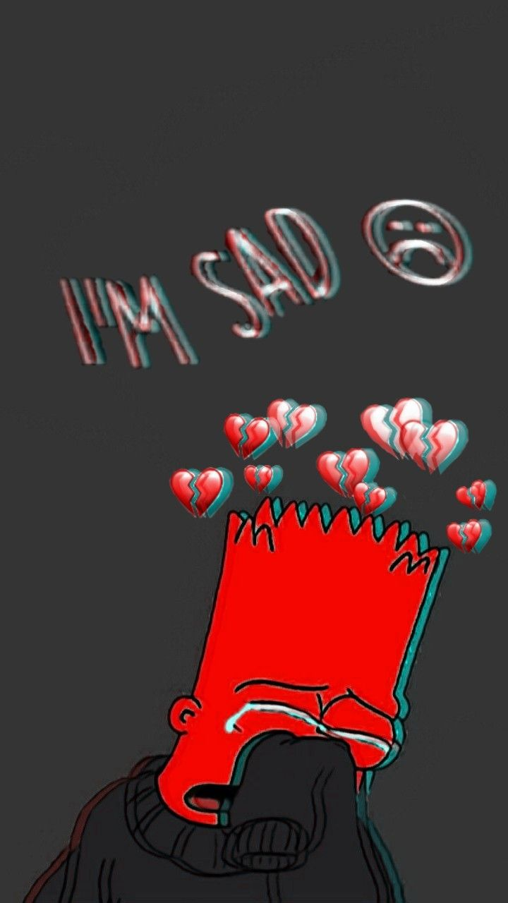 simpson sad wallpapers in